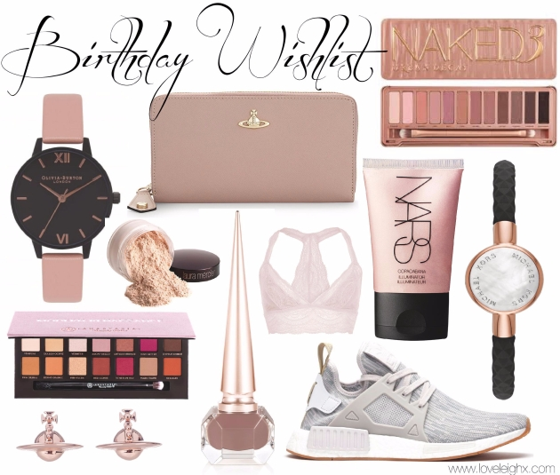Love Leigh's Birthday Wishlist