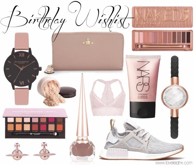 Love Leigh's Birthday Wishlist