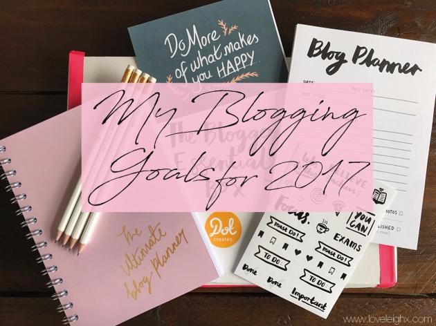 Love Leigh's Blogging Goals