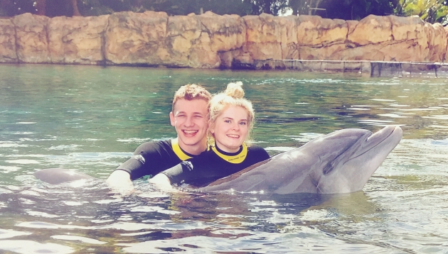 Discovery Cove - Love Leigh